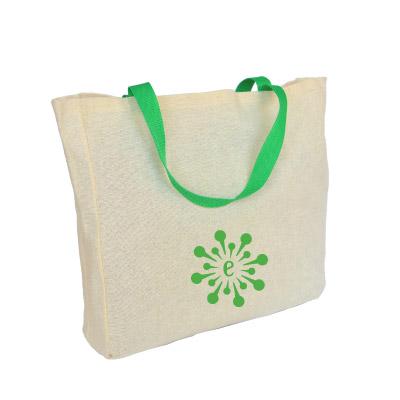 BL02-bolsas ecologicas en lona con manija color