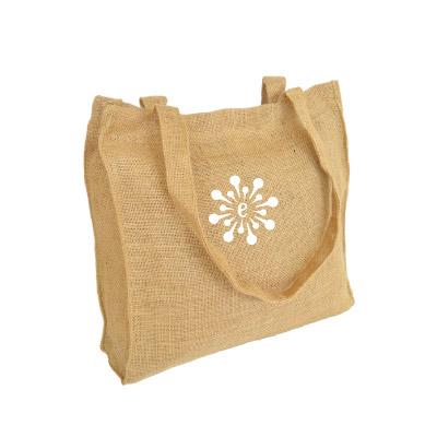 BY01-bolsas ecologicas en yute con fuelle y manija